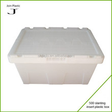 Popular white plastic fruit box wholesale