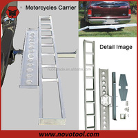 China Manufacturer Hitch Mounted Motorcycle Carrier With Ramp For 400Lbs Loading Capacity
