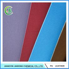 Low Price Nubuck Leather PU Shoe Leather