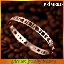PRIMERO Classical Korean version Exquisite craft Counters quality People Price Titanium steel jewelry Stainless steel bangle