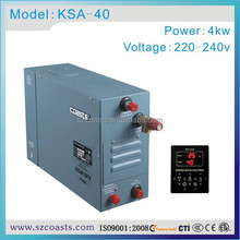 Strong recommend coasts KSA 4KW 220 or 240v steam generator with CE for home use