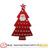HOT SALE!!! Xmas tree shape felt advent calendar for home decoration