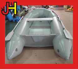 Grey Plywood Floor Inflatable Boat for sale