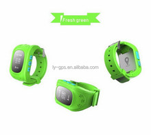 Customized crazy selling gps watch tracker low battery alert