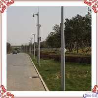 Hot sale 10 meters lighting pole with 3 year warranty