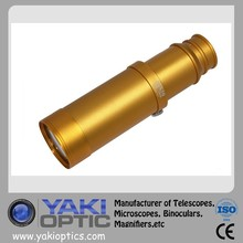 Hotsale 10*50 Antique Brass Handheld Monoculars Single Binoculars For Marine Boat With Gold Color