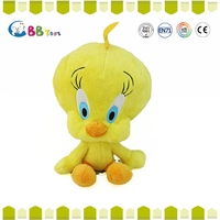 Carrefour Certified stuffed Fahsion hot selling simulation stuffed toy/yellow chicken plush toys