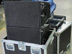 "Speaker Box Line Array System/ dual 10"" loudspeaker line array/Q1 series"