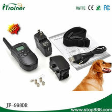 sounds & static stimulations Remote pet electronic training collar product