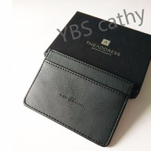 Leather card holder and leather dairy set as gift