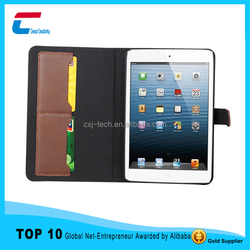 New arrival 360 rotation luxury leather case for ipad mini 4, sleep feature for ipad mini 4 leather case with rotating funtion
