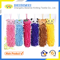 Microfiber Chenille Child Hand Towels decorative hand towels Cartoon Absorbent Soft Hand Towels