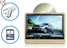 car dvd player as mini TV for back seat support mp3 mp4 format