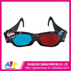 2014 hot selling custom paper magenta&green cyan 3d glasses with good printing