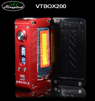 E-cigarette VTBOX200 stainless steel ecig tank vapor batteries alibaba express E-cigarette VTBOX200