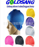 Silicone Swimming Cap for Long Hair Bubble Swimming cap
