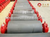 High quality conveyor system drive pulley /drum with rubber coated for mining byCE/ISO/SGS largest manufacturer