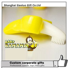 Wholesale Novelty Smart Baby Banana toothbrush For Training