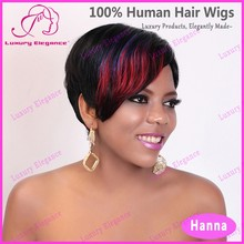 100% Indian Human Hair Sexi Women 27 Wig Pieces Hair Styles