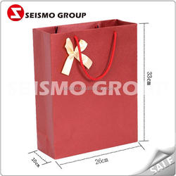 luxury paper jewelry bags paper shopping packaging bag