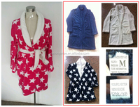 ladies bathrobe F8403E clothing overstock