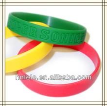 haining LELE Imprint OEM silicone wristband,silicone wrist band,silicone band