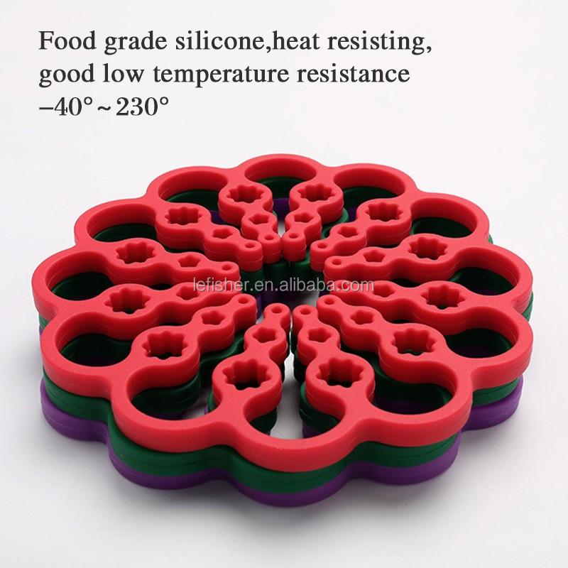Mesa de comedor creativo placemat coaster para accesorios de ...