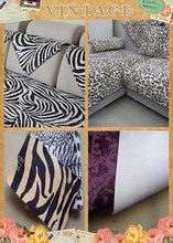 Manufacturer!!! Leopard skin pvc faux leather for furniture for sofa upholstery