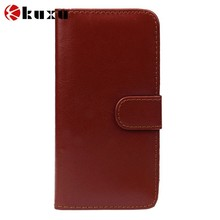 Factory TJ genuine leather nice design single phone bag/case for HTC series smartphone