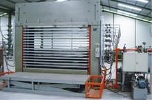 Chapa carpintería máquina de prensado en caliente
