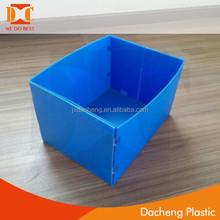folding corrugated plastic box