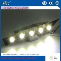 Daytime Running Lights Integrated Kit For Nissane JUKE 2011-2013 DRL, Running Bike For Nissane White LED Daytime Running Light