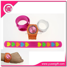 Wedding favors gifts silicone hand band kids slap band watches