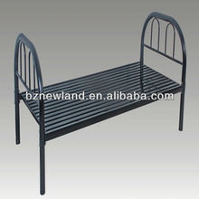 cheap ikea single bed metal bed iron single steel keel bed