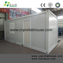 low cost Sandwich panel prefab 20ft container house with high quality