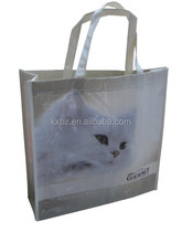 Cat pictures printing pp woven bag