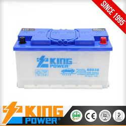 Hot Selling good quality 12V100AH Dry Charge car battery best price
