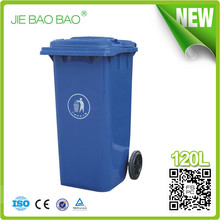 plastic manufactur 120l construction trash bin Plastic Dumpster Waste Bins stackables Wheelie dustbin