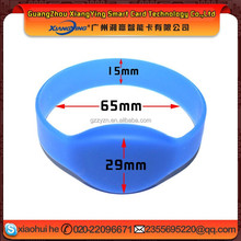 eco-friendly rfid wrist band silicone for swimming pool