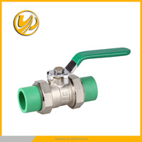 free sample PP-R brass ball valve