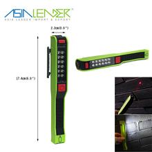 3 AAA Battery Powered Multiple Lighting Mode Plastic 12pcs LED and Laser Pen Light