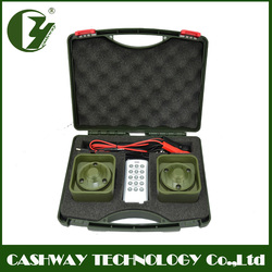 Sounds clear hunting equipment , 50w mp3 bird caller hunt , 150dB mp3 player birds sound with 300~500 meter remote distance