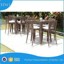 Outdoor Rattan Furniture Bar Table and Chairs RY2007