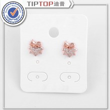 Exquisite Rose Golden,beautiful,maple Leaves Earrings For Women Party With Zircons,best Christmas Gift