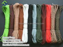 Survival kit type nylon 7 inner strands cheap 550 paracord