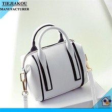 new style european luxury lady shoulder pu bag Cheap Leather Tote Bag for women
