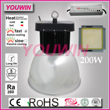 Dimmable led high bay light with motion sensor or DALI convert