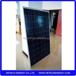 1.5kw solar panel 6 units of poly crystalline solar panels 250 watt