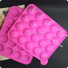 Lollipop shaped silicone bakeware manufacturer