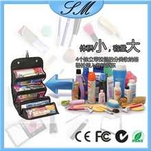 personalized cosmetic bags/ multifunction Roll N Go Cosmetic bag